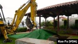 聖蓋博市開棺慶祝建市百年