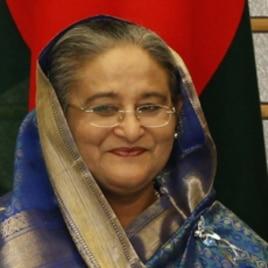 Bangladeshi Prime Minister Sheikh Hasina.