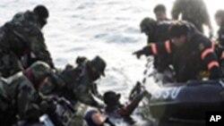 한국 해군 천안함 실종자 수색중단