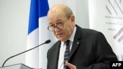 Jean-Yves Le Drian (AFP PHOTO )