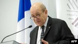 Le ministre français de la Défense Jean-Yves Le Drian.