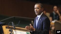 9月21号美国总统奥巴马在联大讲话