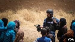 Reporter kurdskog servisa Glasa Amerike Zana Omar bio je medju povredjenima u napadu u Siriji