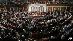 قانونگذاران آمریکا در کنگره.