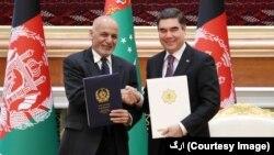 د ترکمنستان ولسمشر وایي د ترهګرۍ پر ضد مبارزه کې د ولسمشر غني له نظر سره موافق دی