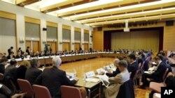 Tokyo'daki Toplantıdan Bir Görüntü