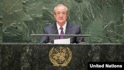 Abdulaziz Komilov, O'zbekiston Tashqi ishlar vaziri, Nyu-York, 26-sentabr, 2014