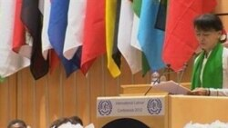 Gira triunfal de Suu Kyi a Europa