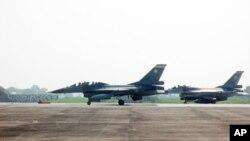 台灣的F-16戰机
