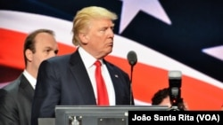 Capres partai Republik Donald Trump berjanji akan memulihkan infrastruktur Amerika (foto: dok).