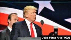 Prezidentlik uchun respublikachilar nomzodi Donald Tramp
