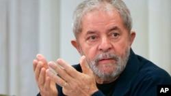 "Cựu Tổng thống Brazil Luiz Inacio ""Lula"" da Silva."