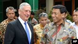 AQSh Mudofaa vaziri Jim Mattis Indoneziyada