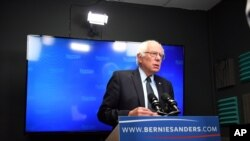 Bernie Sanders, Burlington, Vermont, le 16 juin 2016.