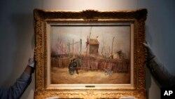 France Van Gogh - Street Scene in Montmartre 2