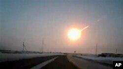 Од снимката на метеорот направена од автомобил, објавена во рускиот весник Наша газета.