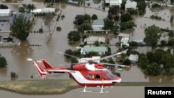 Banjir di Australia awal tahun lalu terjadi lagi saat ini. (Foto: Dok)