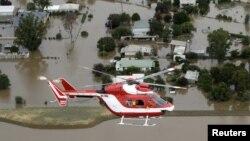Nhiều ngày mưa như trút gây lũ lụt ở Australia hồi tháng 3, 2012