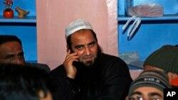 Pemimpin separatis Kashmir, Masarat Alam di Srinagar, India (Foto: dok).