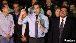 La Asamblea Nacional Constituyente de Venezuela, que controla el presidente en disputa Nicolás Maduro, retiró la inmunidad parlamentaria al presidente encargado Juan Guaidó, el martes 2 de abril de 2019.