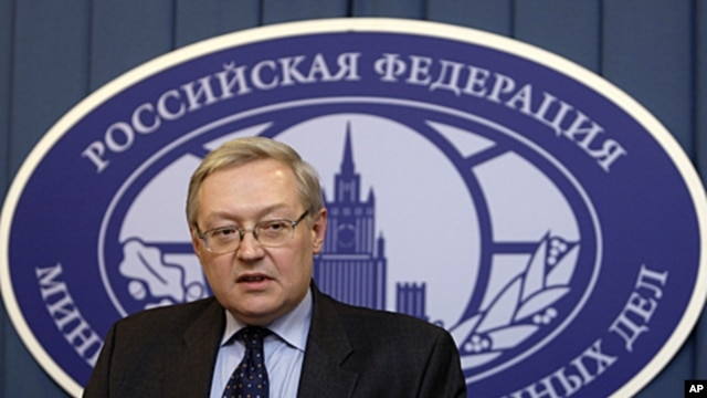 Russia's Deputy Foreign Minister Sergei Ryabkov (file photo)