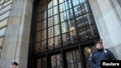 미국 뉴욕 연방준비은행 건물. (자료사진)