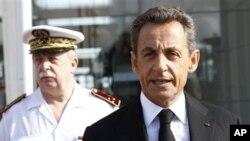 法国总统萨科齐(资料照片)