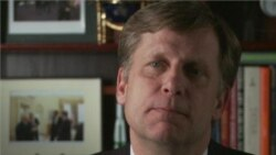 VOA interview with Ambassador Michael McFaul
