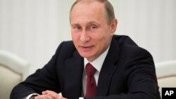 Президент России Владимир Путин принял глав внешнеполитических ведомств стран-участниц ШОС. Москва, Россия. 3 июня 2015 г.