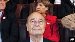 Former French President Jacques Chirac was found guilty of embezzlement and abuse of power in an unprecedented case that for the first time saw a former French leader face charges in court, (File).
