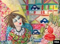 Yaya's Doilies by Chryssa Wolfe (Julie Taboh/VOA)