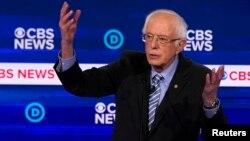 Senator Bernie Sanders, kandidat Capres terdepan Partai Demokrat
