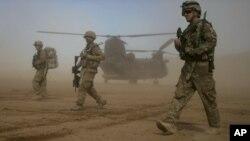 Американские военнослужащие в составе международного контингента в Афганистане (архивное фото)