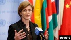 사만다 파워 유엔 주재 미국대사 (자료사진)