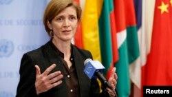La embajadora de EE.UU. en la ONU, Samantha Power, insistió en detener el referendo en Crimea.