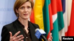 Jakadiyar Amurka a MDD Samantha Power.