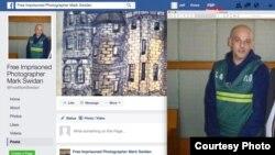斯威登的母亲在脸书上为儿子求援(脸书截图)