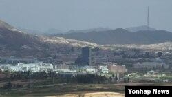 Khu phi quân sự (DMZ) giữa hai miền của bán đảo Triều Tiên.