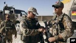 아프가니스탄에서 작전을 수행중인 독일군