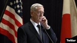 Bộ trưởng Quốc phòng Hoa Kỳ Jim Mattis.