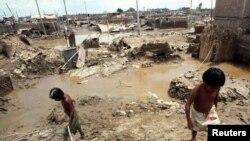 El fenómeno de El Niño en Perú que se presentó en 1997-1998 dejó pérdidas por más de $ 1.200 millones de dólares.