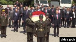 Predsednik Srbije Aleksandar Vučić prilikom zvanične posete Turskoj, u Ankari, 7. maja 2018.