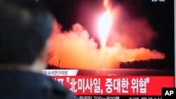 VOA连线(叶兵):北京反对朝鲜再射导弹