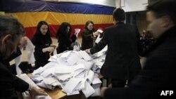 Підрахунок голосів на виборчій дільниці