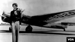 A los 40 años, Amelia Earhart, emprendió su último viaje en el Lockheed Electra 10E.