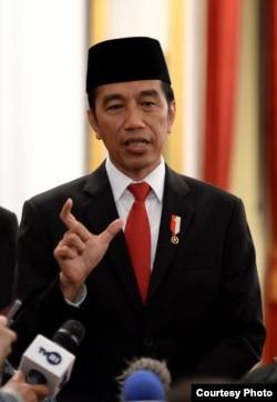 Presiden Joko Widodo di Istana Negara, Jakarta, Rabu (5/2) mengisyaratkan 600 WNI eks ISIS tidak bisa dipulangkan ke Indonesia. (Foto: Biro Setpres )