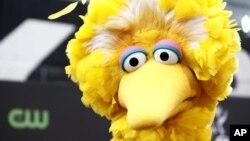 """Abelardo, conocido también como """"Big Bird""""."""