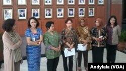 Panitia Seleksi Calon Pimpinan KPK memastikan telah mencoret nama calon pimpinan KPK yang telah ditetapkan tersangka oleh Bareskrim Mabes Polri (foto: VOA/Andylala)