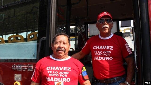 Venezuelan Voters narrowly approve Chavez's handpicked successor.