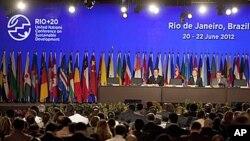 20일 브라질 리우데자네이루에서 개막한 리우+20 유엔 환경정상회의.